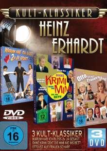 Heinz Erhardt - Kult-Klassiker, 3 DVDs