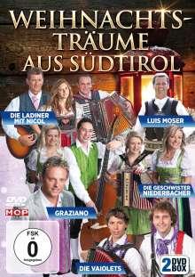 Weihnachtsträume aus Südtirol-Folge 1 + 2, 2 DVDs