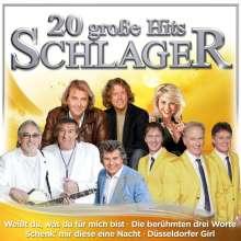 20 große Hits Schlager, CD