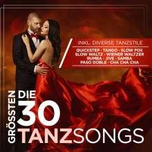 Die 30 größten Tanzsongs, 2 CDs