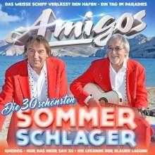 Die Amigos: Die 30 schönsten Sommerschlager, 2 CDs
