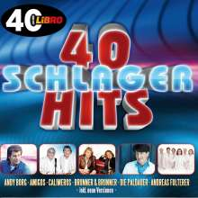 40 Schlager Hits, 2 CDs