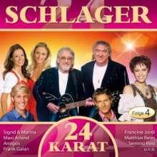 Various Artists: 24 Karat-Schlager-Folge 4, 2 CDs