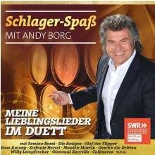 Andy Borg: Schlager-Spaß mit Andy Borg: Meine Lieblingslieder im Duett, CD