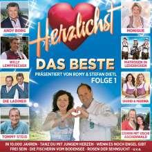 Herzlichst: Das Beste präsentiert von Romy & Stefan Dietl Folge 1, 2 CDs