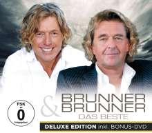 Brunner & Brunner: Das Beste (Deluxe Edition), 1 CD und 1 DVD