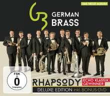 Musik für Blechbläser: German Brass - Rhapsody (Deluxe-Edition mit DVD), CD