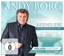 Andy Borg: Jugendliebe: Unvergessene Schlager (Deluxe-Edition), 1 CD und 1 DVD