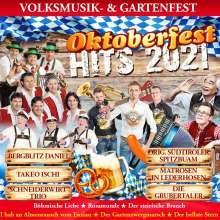 Oktoberfest Hits 2021: Volksmusik & Gartenfest, CD