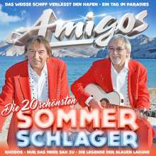 Die Amigos: Die 20 schönsten Sommerschlager, CD