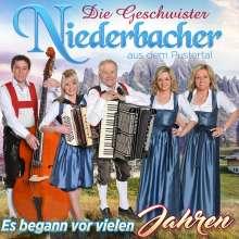 Die Geschwister Niederbacher: Es begann vor vielen Jahren, CD