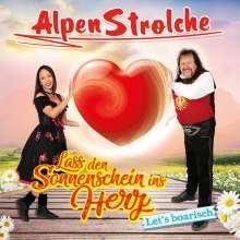 Alpenstrolche: Lass den Sonnenschein ins Herz, Maxi-CD