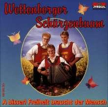 Wettenberger Schürzenb.: A bisserl Freiheit braucht der Men.., CD