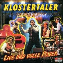 Klostertaler: Live und volle Power, CD