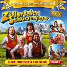 Zillertaler Schürzenjäger: Legenden der Volksmusik: Ihre großen Erfolge, 2 CDs