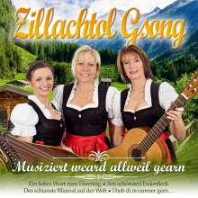 Zillachtol Gsong: Musiziert weard allweil gearn, CD