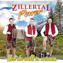 Zillertal Power: Heit da will is wissen, CD
