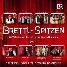 Brettl-Spitzen: Die Volkssänger-Revue live aus dem Hofbräuhaus, CD
