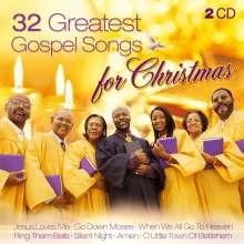 32 Greatest Gospel Songs For Christmas, 2 CDs