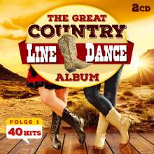 The Nashville Line Dance Band: The Great Country Line Dance Album 40 Hits, 2 CDs
