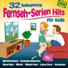 Party-Kids: 32 bekannte Fernseh-Serien Hits für Kids, 2 CDs