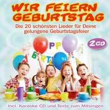 Party-Kids: Wir feiern Geburtstag, 2 CDs