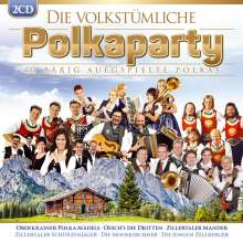 Die volkstümliche Polkaparty: 40 bärig aufgspielte Polkas, 2 CDs