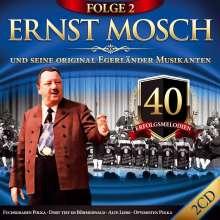 Ernst Mosch: 40 Erfolgsmelodien Folge 2, 2 CDs