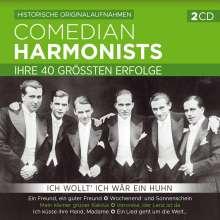 Comedian Harmonists: Ich wollt' ich wär ein Huhn-Ihre 40 größt.Erfolge, 2 CDs