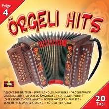 Örgeli Hits-Folge 4, CD