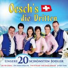 Oeschs Die Dritten: Unsere 20 schönsten Jodler, CD