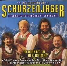 Schürzenjäger: Verliebt in die Heimat, CD