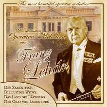Franz Lehar (1870-1948): Die Schönsten Operetten, CD