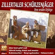 Zillertaler Schürzenjäger: Ihre ersten Erfolge, CD
