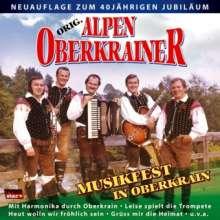 Original Alpenoberkrainer: Musikfest in Oberkrain, CD