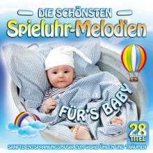 Die schönsten Spieluhr-Melodien fürs Baby, CD