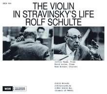 """Igor Strawinsky (1882-1971): Werke für Violine & Klavier - """"The Violin in Stravinsky's Life"""", 2 CDs"""