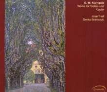 Erich Wolfgang Korngold (1897-1957): Werke für Violine & Klavier, CD
