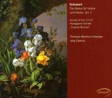 Franz Schubert (1797-1828): Werke für Violine & Klavier Vol.2, CD