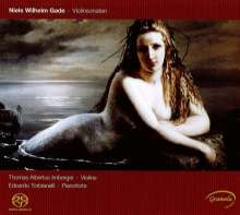 Niels Wilhelm Gade (1817-1890): Sonaten für Violine & Klavier Nr.1-3, SACD