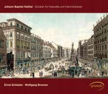 Johann Baptist (Jan Krtitel) Vanhal (1739-1813): Sonaten für Klarinette & Hammerklavier, CD