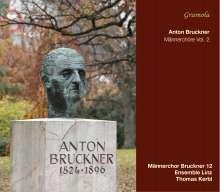 Anton Bruckner (1824-1896): Werke für Männerchor Vol.2, CD