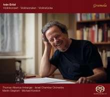 Ivan Eröd (geb. 1936): Violinkonzert op.15, CD