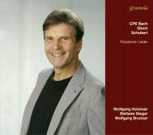 Wolfgang Holzmair & Stefanie Steger - Klopstock Lieder, CD