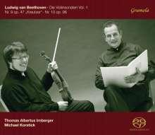 Ludwig van Beethoven (1770-1827): Violinsonaten Vol.1, Super Audio CD