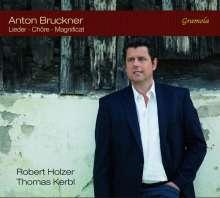 Anton Bruckner (1824-1896): Lieder, Chöre, Magnificat, CD