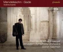 Niels Wilhelm Gade (1817-1890): Violinkonzert op.56, SACD