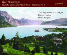 Karl Goldmark (1830-1915): Suite für Violine & Klavier Nr.2 op.43, Super Audio CD