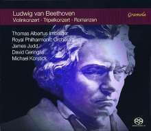 Ludwig van Beethoven (1770-1827): Violinkonzert op.61, 2 SACDs