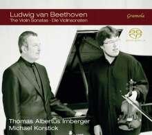 Ludwig van Beethoven (1770-1827): Violinsonaten Nr.1-10, 4 Super Audio CDs